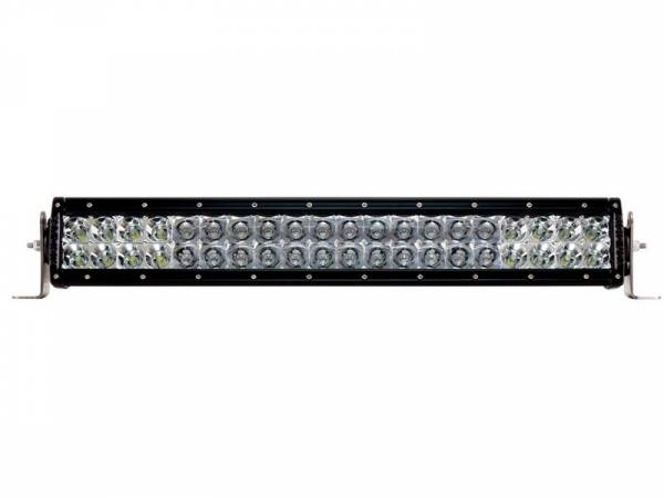 Rigid Industries - Rigid Industries 120312 E-Series 10 Deg. Spot/20 Deg. Flood Combo LED Light