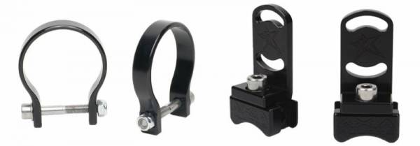 Rigid Industries - Rigid Industries 47021 RDS Series Radius Bar Clamp Kit