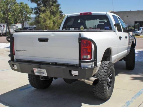 Aluminess - Aluminess 210033.1 Rear Bumper Dodge RAM 2500/3500 2006-2009