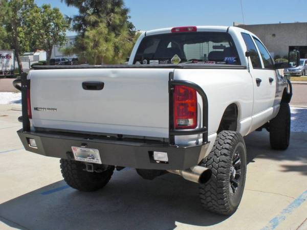 Aluminess - Aluminess 210176 Rear Bumper or Swing Arms Dodge RAM 2500/3500 2010-2014