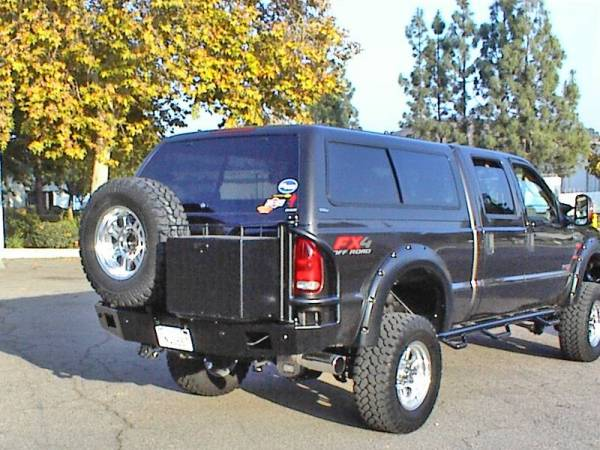 Aluminess - Aluminess 210043.1 Rear Bumper Ford Excursion 1999-2004
