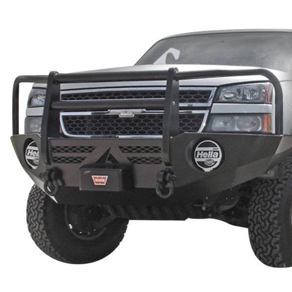 Aluminess - Aluminess 210040.1 Front Bumper Ford F250/F350 2005-2007