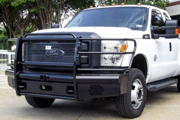 American Built - American Built H2F23112 Pipe Front Bumper Ford F250/F350 2011-2016