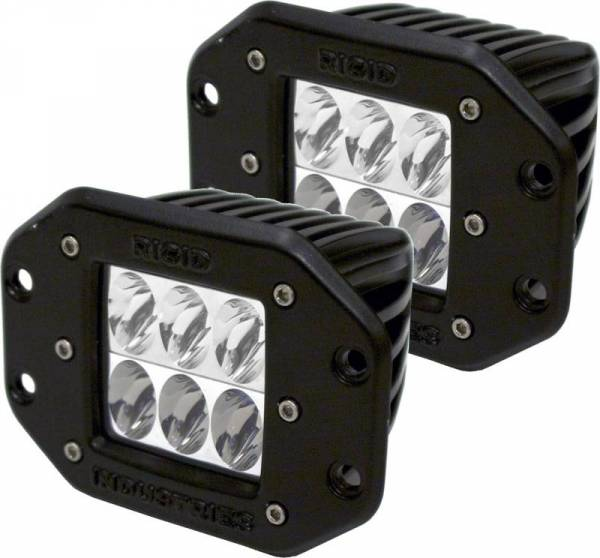 Rigid Industries - Rigid Industries 51231H D-Series Dually D2 Driving LED Light