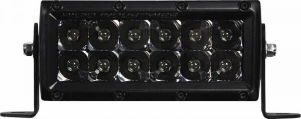 Rigid Industries - Rigid Industries 106212BLK E-Series Midnight Optic Spot Light
