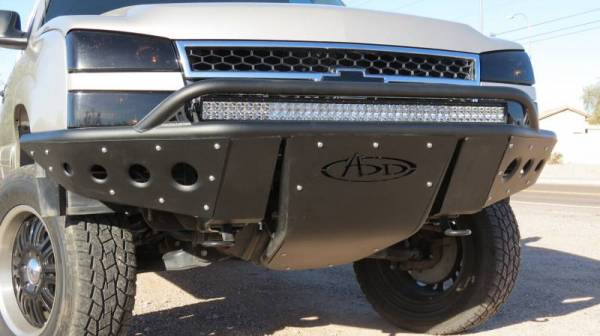 Addictive Desert Designs - ADD F323182410103 Stealth Front Bumper Chevrolet Silverado 1500 2003-2006