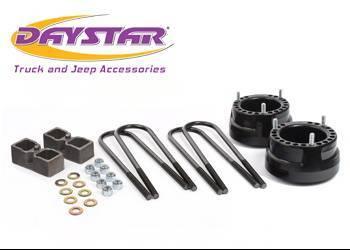 "Daystar - Daystar KC09128BK 2"" Lift Dana 70 Rear Axle Without Top Mount Overload Springs Dodge RAM 2500/3500 1994-2010"