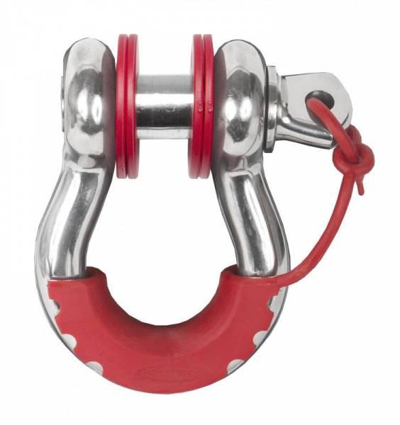 Daystar - Daystar KU70059RE D-Ring Isolator Washer Locker Kit 2 Locking Washers and 8 Non-Locking Washers Red