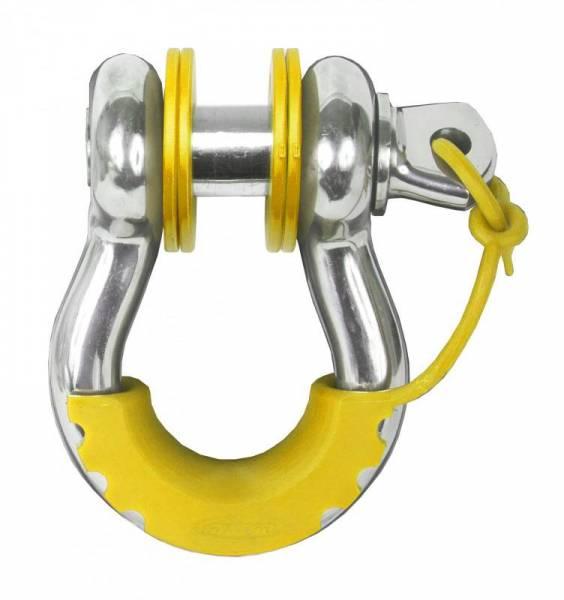Daystar - Daystar KU70059YL D-Ring Isolator Washer Locker Kit 2 Locking Washers and 8 Non-Locking Washers Yellow
