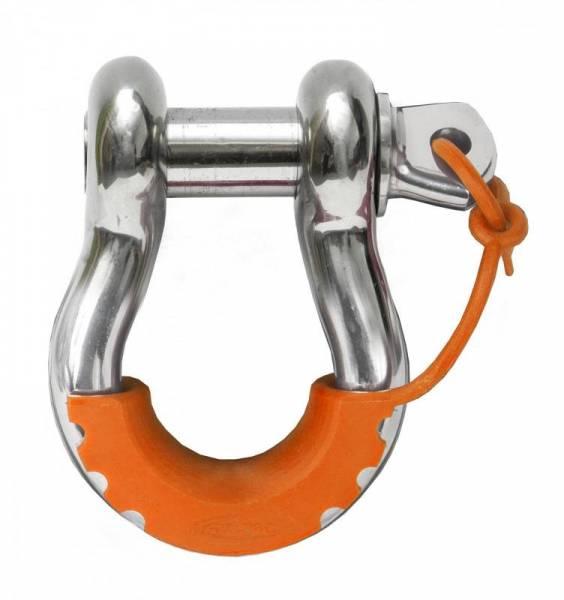 Daystar - Daystar KU70058FA Locking D-Ring Isolators Fluorescent Orange Pair
