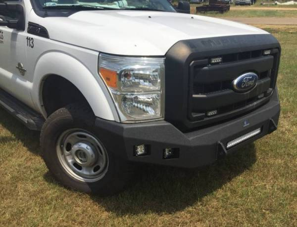 Hammerhead Bumpers - Hammerhead 600-56-0789 Low Profile LED Front Bumper Ford F250/F350 2008-2010