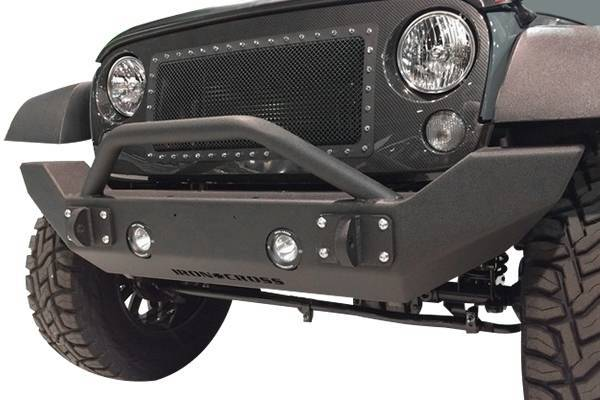 Iron Cross - Iron Cross GP-1300 Full Size Front Bumper with Bar Jeep Wrangler JK 2007-2018