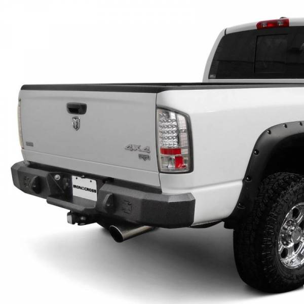 Iron Cross - Iron Cross 21-925-16-MB Matte Black Rear Bumper Nissan Titan XD  2016-2018