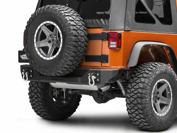 Iron Cross - Iron Cross GP-2000 Stubby Rear Bumper Jeep Wrangler JK 2007-2018