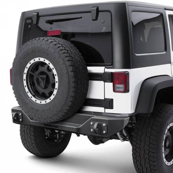 Iron Cross - Iron Cross GP-2002 Stubby Rear Bumper Jeep Wrangler JL 2018-2019