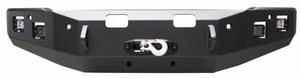 Backwoods - Backwoods BWFE35-101XXFFB Brute Front Bumper No Bull Bar Winch Ready with Sensor Holes Ford E350 2008-2018