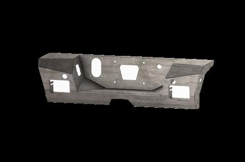 Road Armor - Road Armor 3152DRA Identity Rear Bumper Component Center Section Raw Steel Chevy Silverado 2500HD/3500 2015-2019