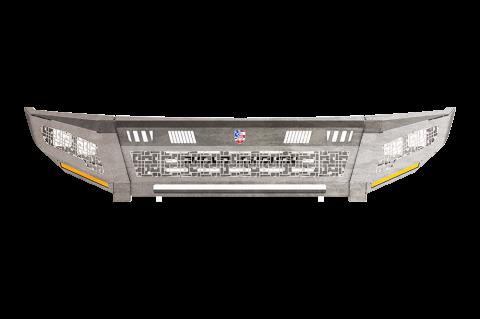 Road Armor - Road Armor 3152DRMD Identity Rear Bumper Component iD Mesh Raw Stainless Steel Chevy Silverado 2500HD/3500 2015-2019
