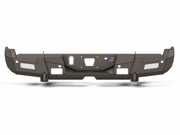 Road Armor - Road Armor 3152DR-A0-P2-MH-BH Identity Rear Bumper without Shackle Mounts and Hyve Mesh Raw Steel Chevy Silverado 2500HD/3500 2015-2019