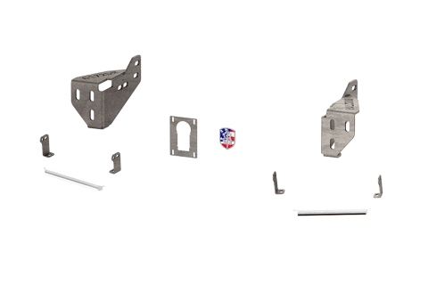 Road Armor - Road Armor 4102DRBH Identity Rear Bumper Component Accent Raw Steel Dodge RAM 2010-2018