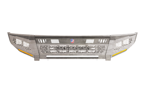 Road Armor - Road Armor 4102DRMD Identity Rear Bumper Component iD Mesh Raw Stainless Steel Dodge RAM 2010-2018