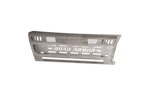 Road Armor - Road Armor 4162DFA Identity Front Bumper Component Center Section without Shackle Mounts Raw Steel Dodge RAM 2010-2018