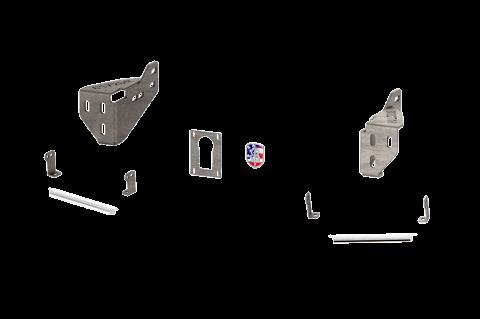 Road Armor - Road Armor 6112DRBH Identity Rear Bumper Component Accent Raw Steel Ford F250/F350 2011-2016