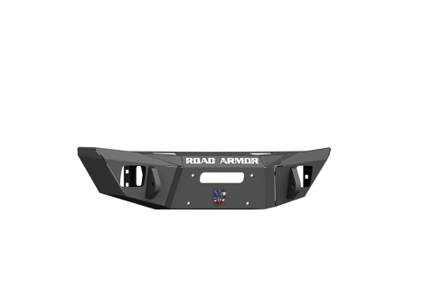 Road Armor - Road Armor 5180F0B Stealth Front Winch Bumper Competition Cut Satin Black Jeep Wrangler JL 2018-2019