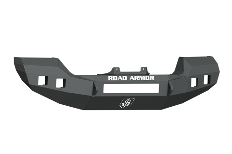 Road Armor - Road Armor 5183F0B Stealth Front Winch Bumper Full Width Satin Black Jeep Wrangler JL 2018-2019