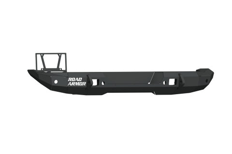 Road Armor - Road Armor 5182R0B Stealth Rear Non-Winch Bumper Mid Width Satin Black Jeep Wrangler JL 2018-2019