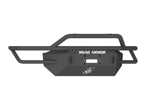 Road Armor - Road Armor SA6004B Sahara Front Winch Bumper Pre-Runner Guard Ford F250/F350 1999-2004