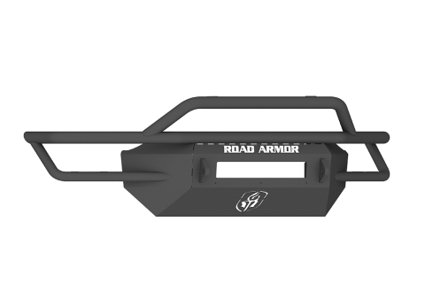 Road Armor - Road Armor SA2144B-NW Sahara Front Non-Winch Bumper Pre-Runner Guard GMC Sierra 1500 2014-2015