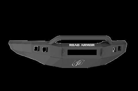 Road Armor - Road Armor 370R4B-NW Stealth Front Non-Winch Bumper Pre-Runner Guard Chevy Silverado 2500HD/3500 2003-2006