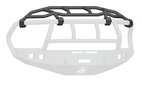 Road Armor - Road Armor 408-INT Stealth Front Non-Winch Bumper Intimidator Guard Dodge RAM 2500/3500 2010-2018
