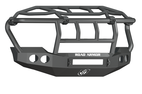 Road Armor - Road Armor 61103B-NW Stealth Front Non-Winch Bumper Intimidator Guard Ford F250/F350 2011-2016