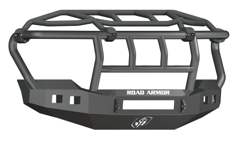 Road Armor - Road Armor 611R3B-NW Stealth Front Non-Winch Bumper Intimidator Guard Ford F250/F350 2011-2016