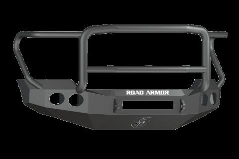 Road Armor - Road Armor 611405B-NW Stealth Front Non-Winch Bumper Lonestar Guard Ford F250/F350 2011-2016