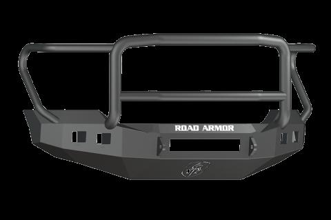 Road Armor - Road Armor 6114R5B-NW Stealth Front Non-Winch Bumper Lonestar Guard Ford F250/F350 2011-2016