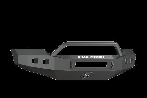 Road Armor - Road Armor 6114R4B-NW Stealth Front Non-Winch Bumper Pre-Runner Guard Ford F250/F350 2011-2016