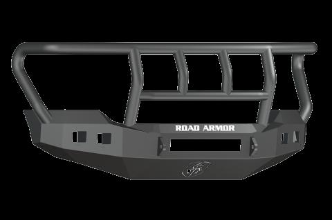 Road Armor - Road Armor 6114R2B-NW Stealth Front Non-Winch Bumper Titan II Guard Ford F250/F350 2011-2016