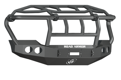Road Armor - Road Armor 611403B Stealth Front Winch Bumper Intimidator Guard Ford F250/F350 2011-2016