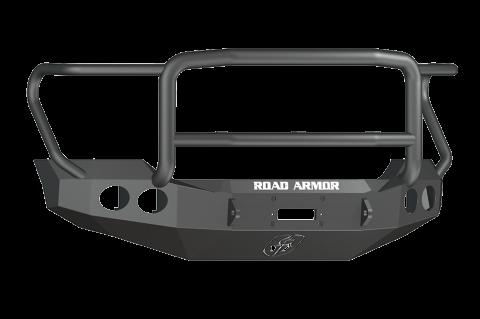 Road Armor - Road Armor 611405B Stealth Front Winch Bumper Lonestar Guard Ford F250/F350 2011-2016