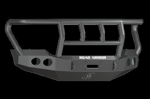 Road Armor - Road Armor 611402B Stealth Front Winch Bumper Titan II Guard Ford F250/F350 2011-2016