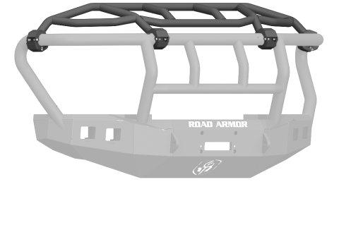 Road Armor - Road Armor 611-INT Stealth Front Non-Winch Bumper Intimidator Guard Ford F250/F350 2011-2016