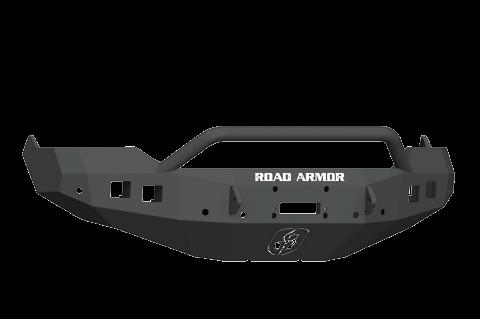 Road Armor - Road Armor 413F4B Stealth Front Winch Bumper Pre-Runner Guard Dodge RAM 1500 2013-2018