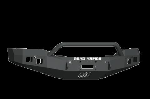 Road Armor - Road Armor 2161F4B Front Winch Bumper Pre-Runner Guard GMC Sierra 1500 2016-2017