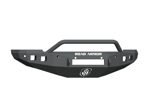 Road Armor - Road Armor 4162F4B-NW Stealth Front Non-Winch Bumper Pre-Runner Guard with 6 Sensor Holes Dodge RAM 1500 2016-2018