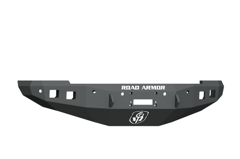 Road Armor - Road Armor 4162F0B Stealth Front Winch Bumper with 6 Sensor Holes Dodge RAM 1500 2016-2018
