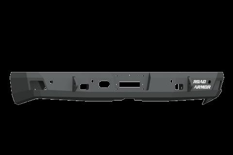 Road Armor - Road Armor 4162RRB Stealth Rear Non-Winch Bumper Dodge RAM 1500 2016-2018