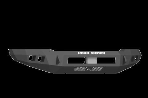 Road Armor - Road Armor 6171F0B-NW Stealth Front Non-Winch Bumper Ford F250/F350 2017-2018